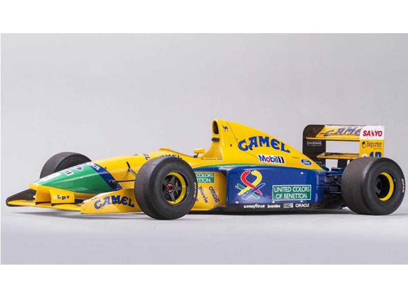 F1 Benetton ex Schumacher