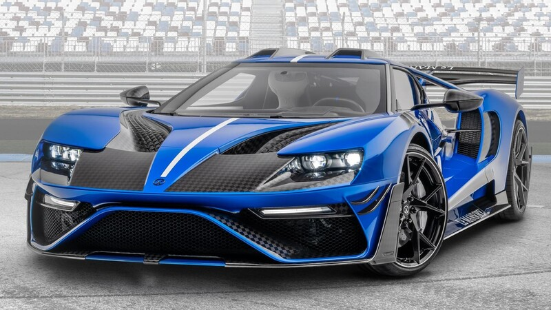 """Ford GT """"Le Mansory"""""""