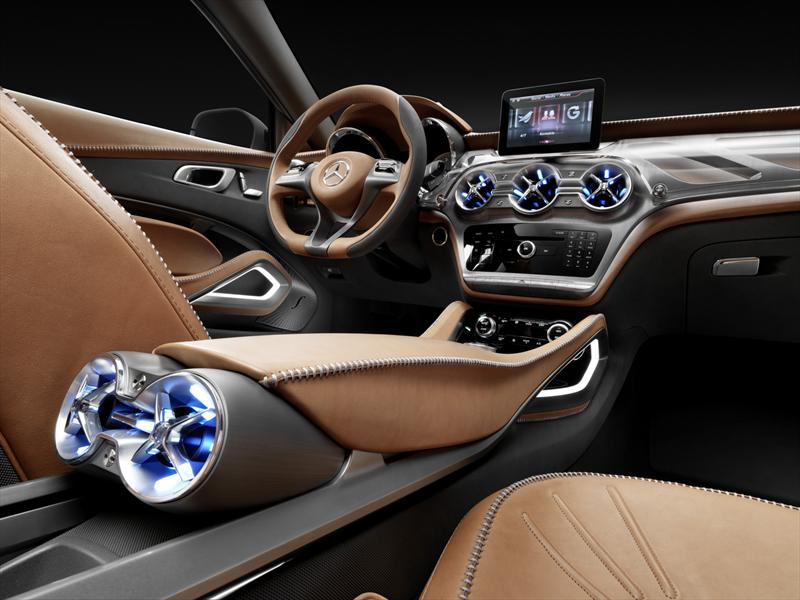 Mercedes-Benz GLA Concept se presenta en Shanghai