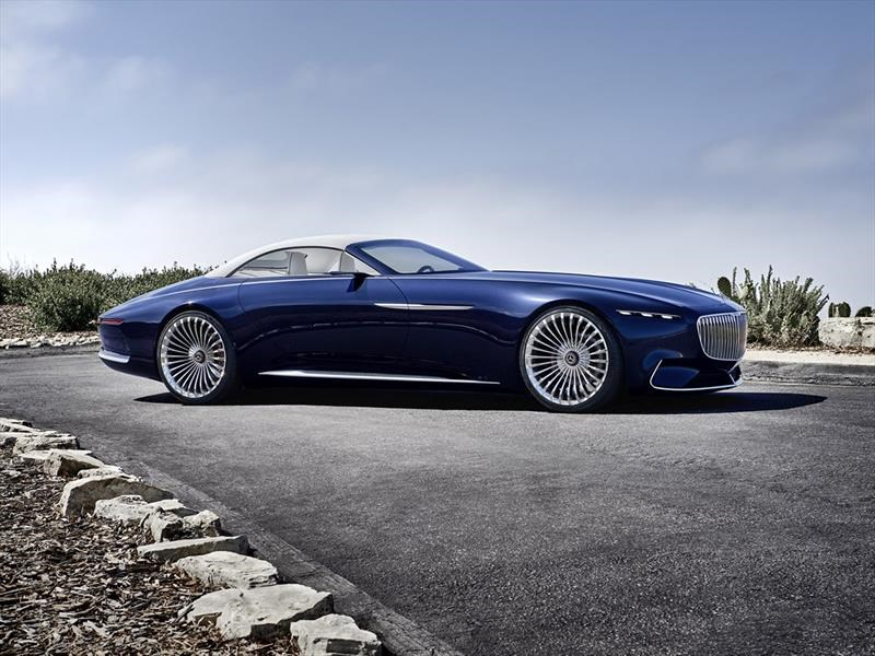 Vision Mercedes-Maybach 6 Cabriolet.