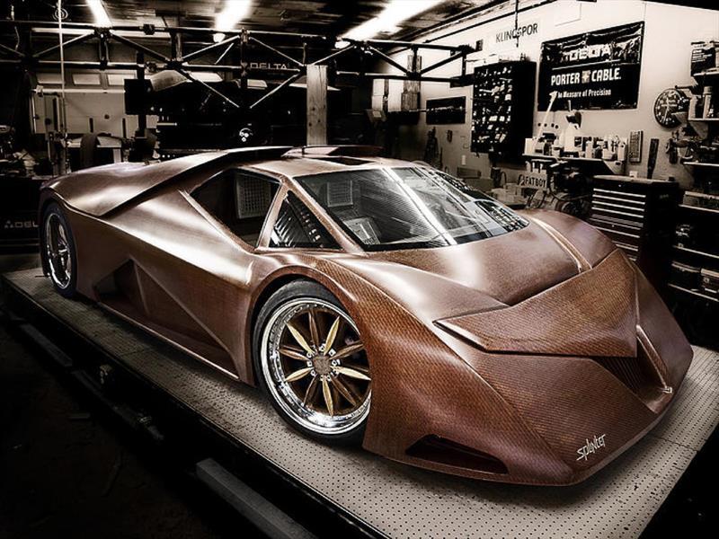 Splinter, el súper auto hecho de madera