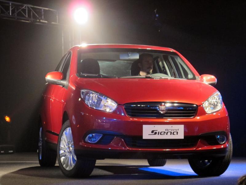 Nuevo Fiat Grand Siena 2012, presentación