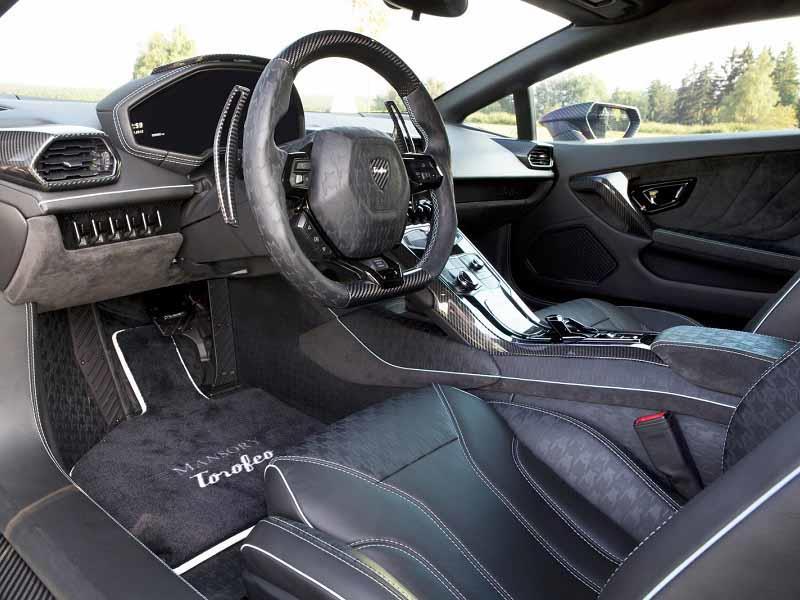 Mansory Torofeo de fibra de carbono