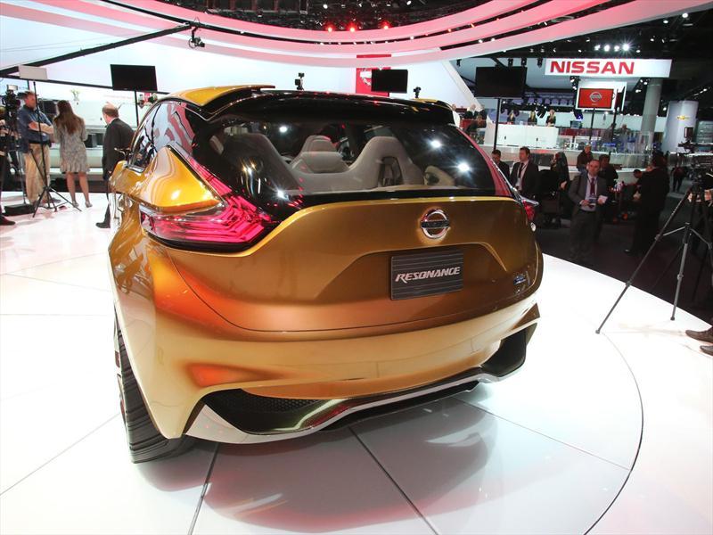 Nissan Resonance Concept en vivo