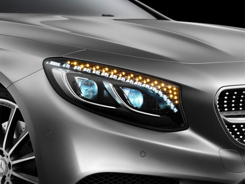 Luces con cristales Swarovski del Mercedes-Benz