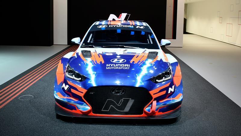Hyundai Veloster N ETCR 2020