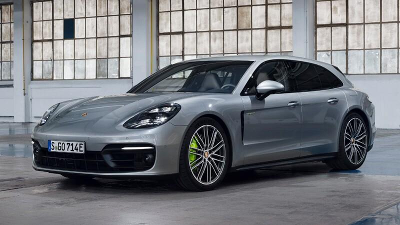 Porsche Panamera Turbo S E-Hybrid 2021