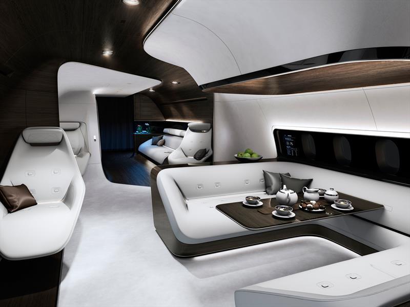 Cabinas para jets por Mercedes-Benz y Lufthansa