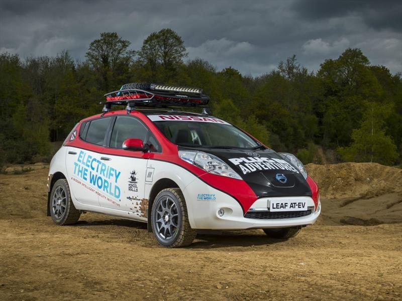 Nissan LEAF en el Rally de Mongolia