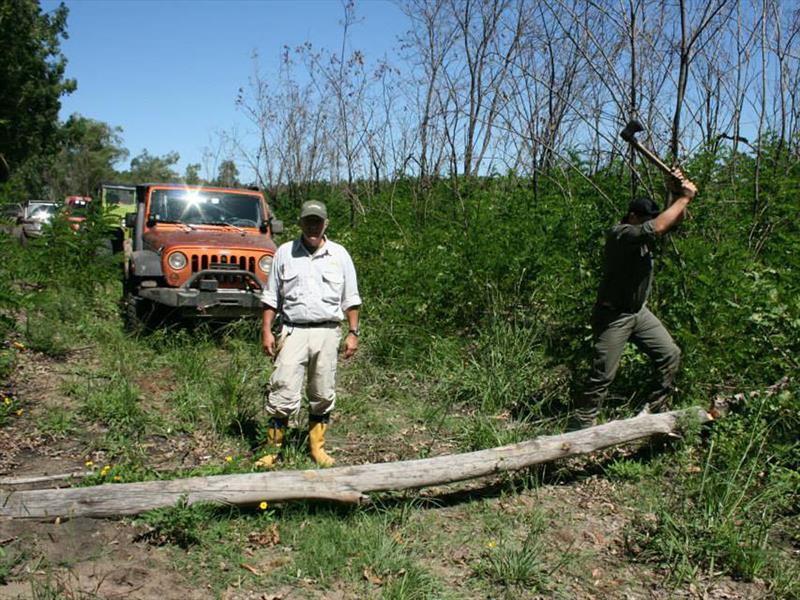 Travesía del Jeep Club Argentina en Concordia