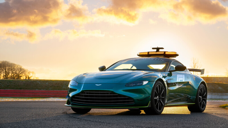 Aston Martin Vantage Official Safety Car F1