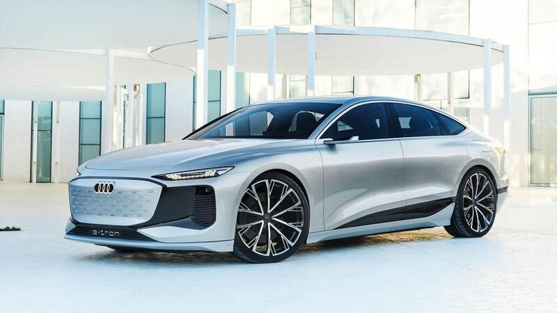 Audi A6 e-tron Concept - Salón de Shanghái