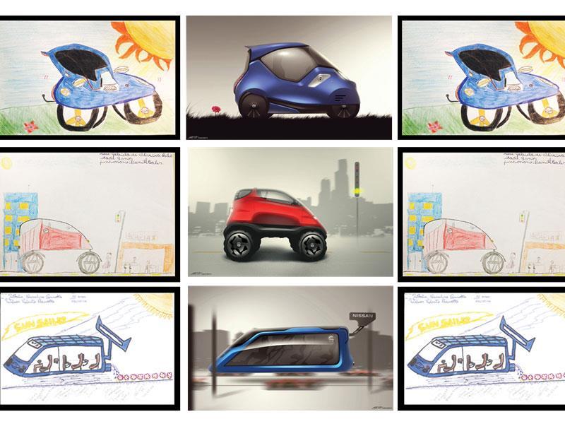 """Concurso """"El automóvil del futuro"""" de Nissan"""