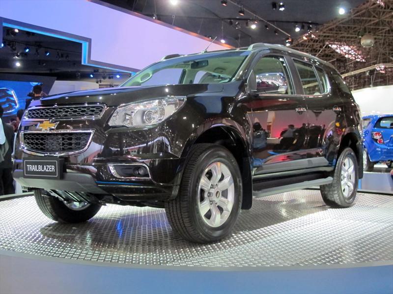 Chevrolet Trailblazer debuta en San Pablo 2012
