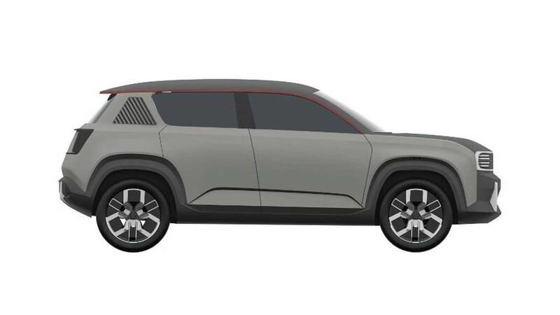 Nuevo Renault 4L filtrado en patentes