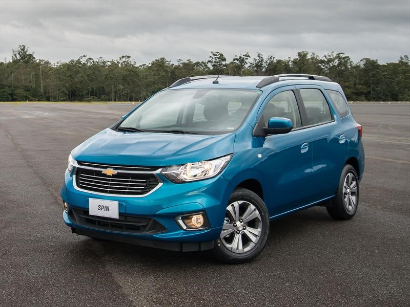 Chevrolet Spin restyling