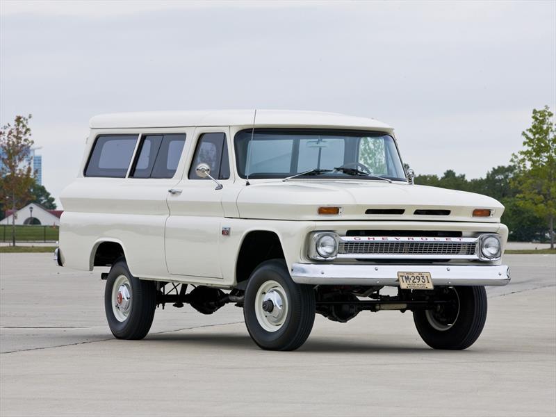 Chevrolet Suburban 6ª Generación 1960-1966