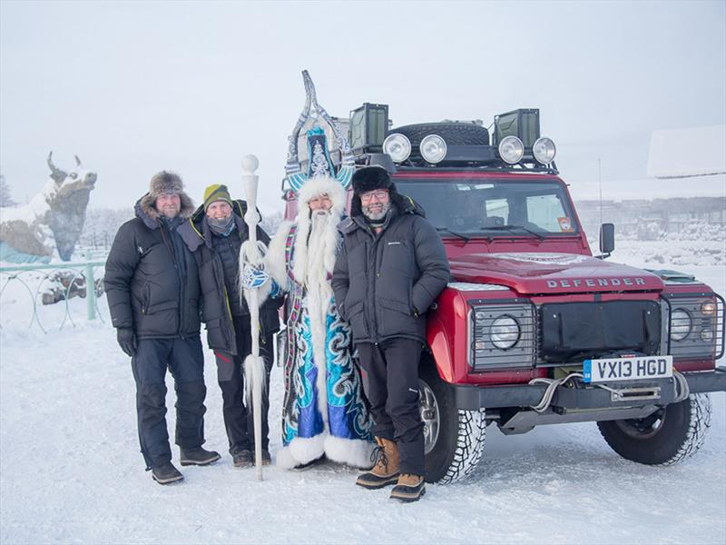 Land Rover Defender en frío extremo