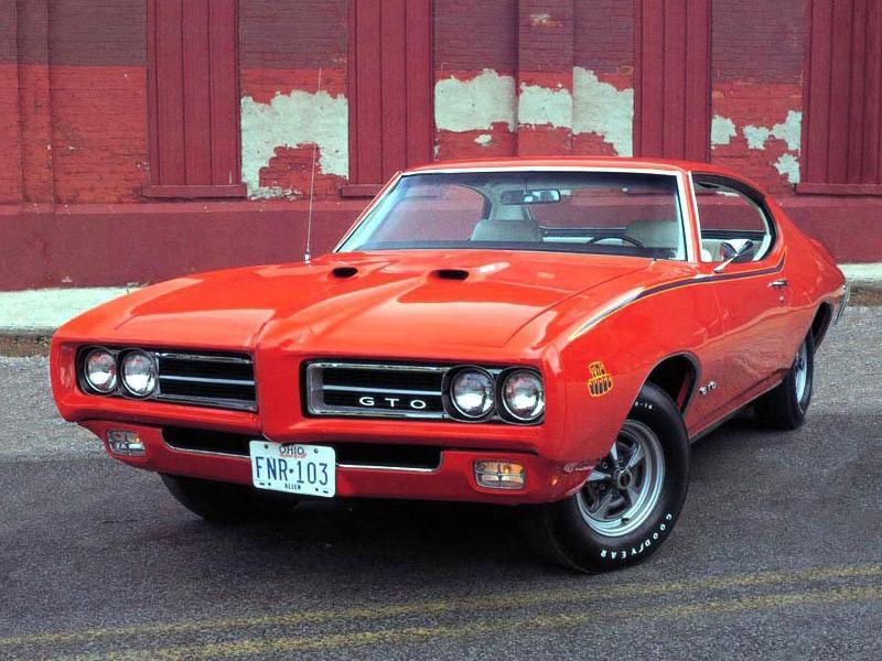 "Top 10: Pontiac GTO ""The Judge"" 1969"
