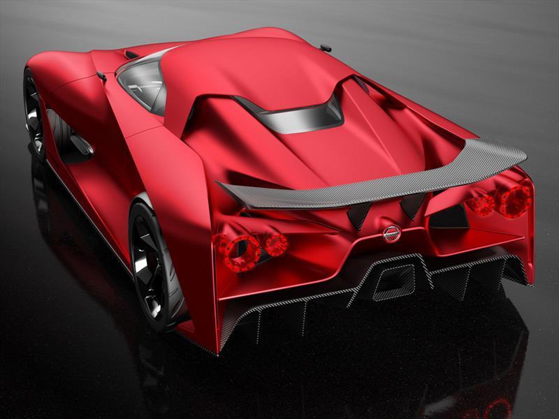 Nissan Vision Gran Turismo 2020 estrena color