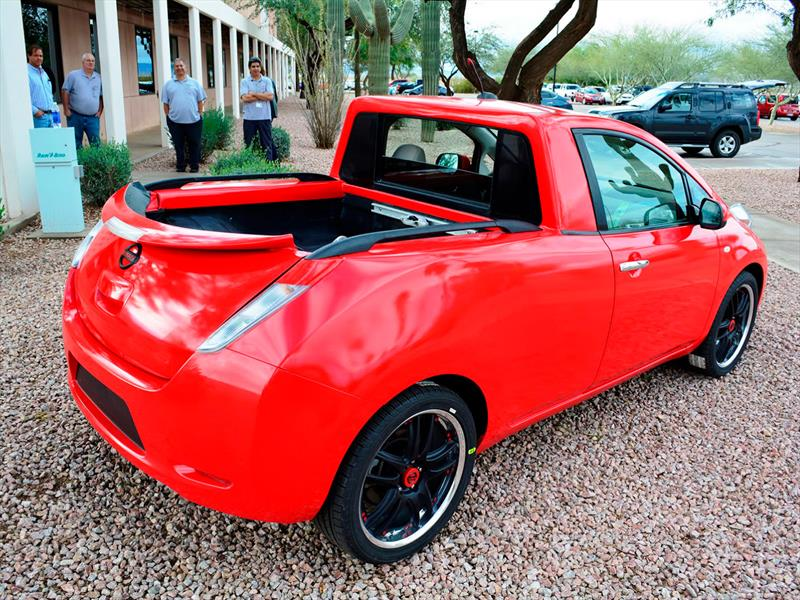 Sparky, un Nissan Leaf convertido en pickup
