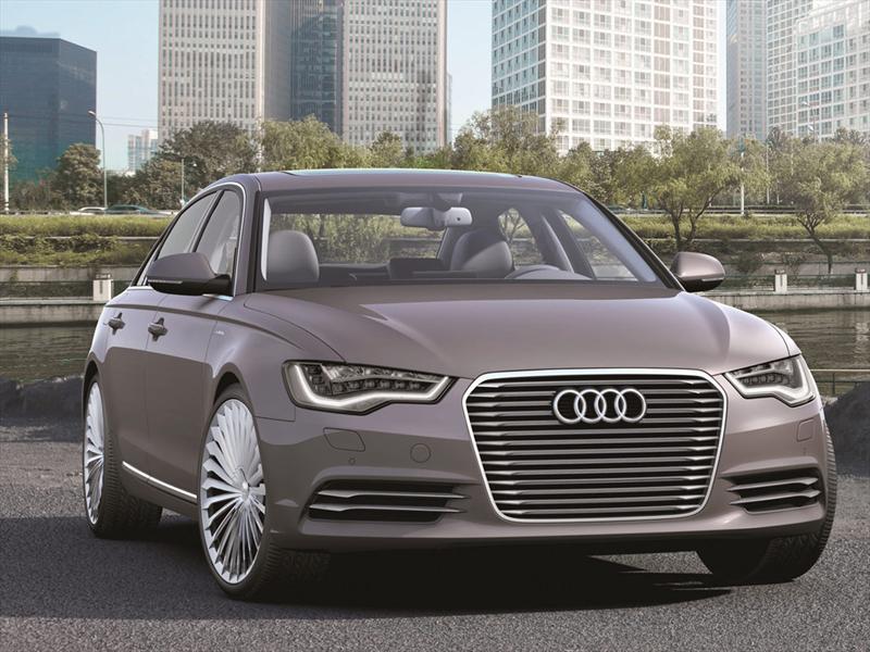 Audi A6 L e-tron Concept Autoshow de Beiging 2012