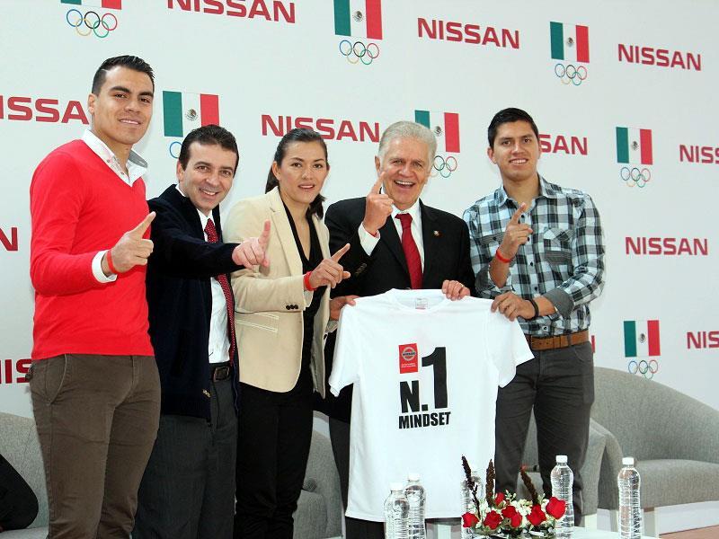Nissan patrocina al Comité Olímpico Mexicano