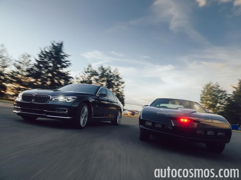 BMW Serie 7 vs KITT