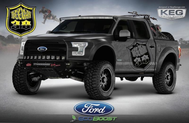 Ford F-150 2015 Hottest Truck SEMA Show 2014