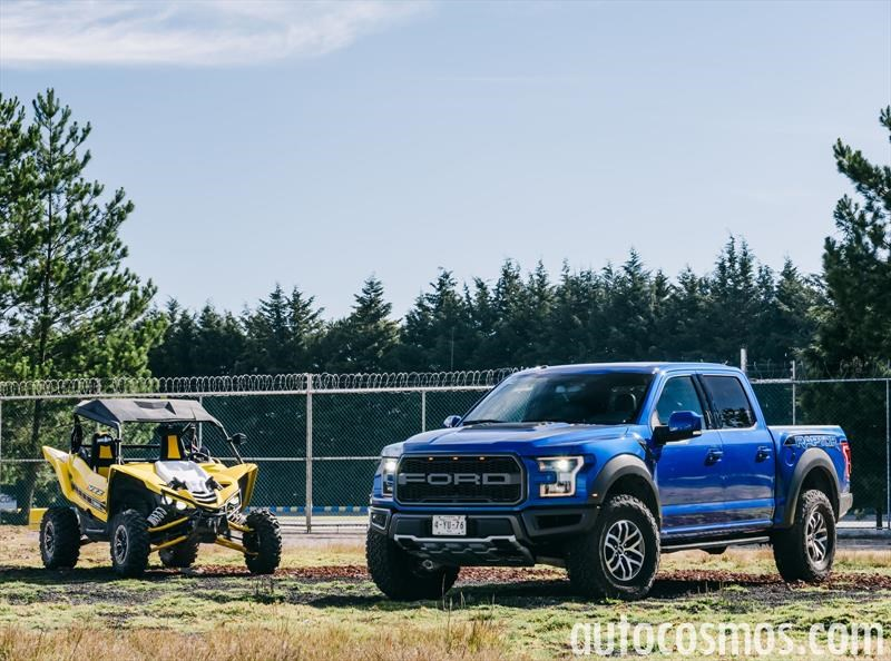 Ford Lobo Raptor vs. Yamaha YXZ 1000 R