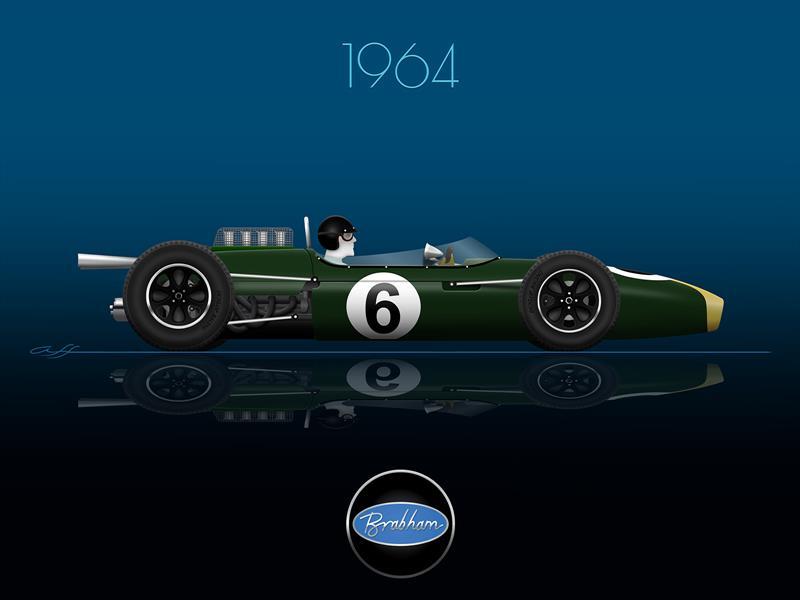 Ganadores GP de México 1964
