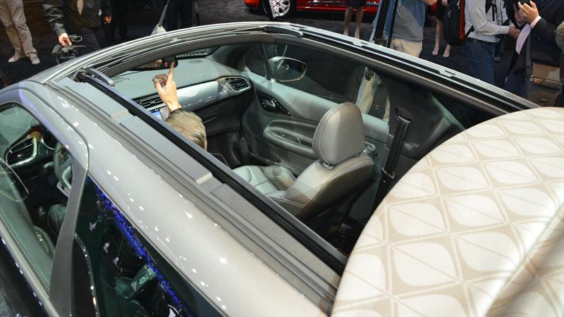 Citroën DS3 Cabrio se presenta en París