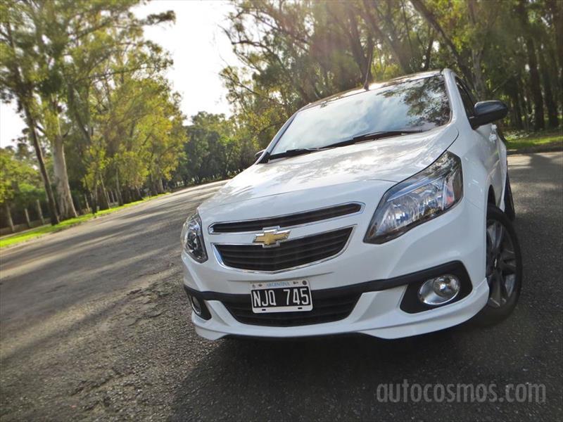 Chevrolet Agile Effect a prueba
