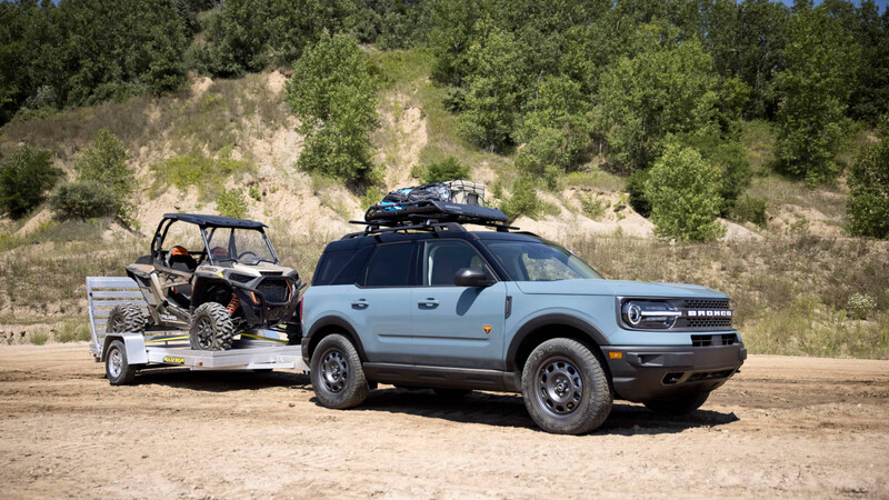 Ford Bronco TOW RZR