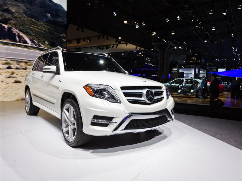 Mercedes-Benz GLK en Nueva York 2012