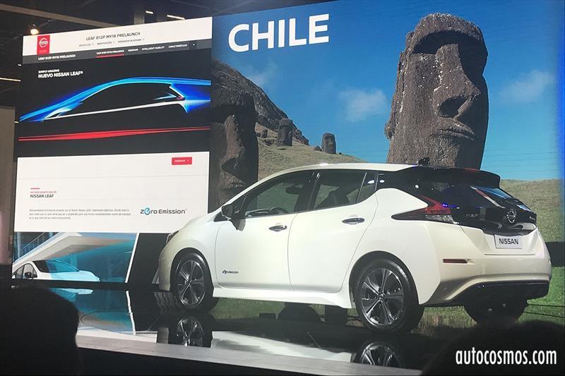 Nissan Leaf 2019 - Lanzamiento Regional