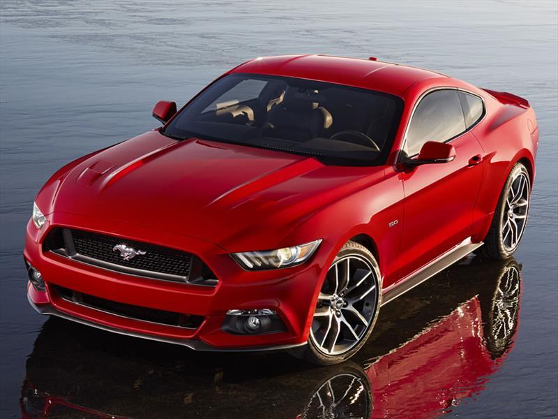 Ford Mustang 2015 se presenta en LA
