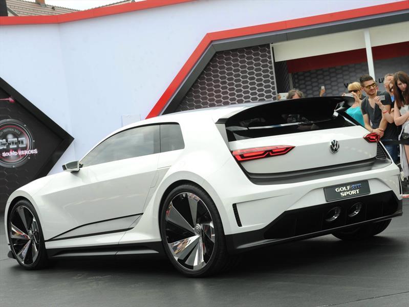 volkswagen golf gte sport concept un super hatchback del. Black Bedroom Furniture Sets. Home Design Ideas