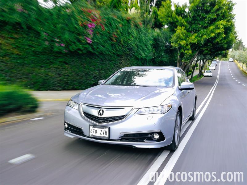 Acura TLX 2015 a prueba