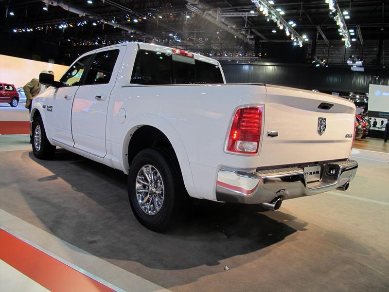 Chrysler, Dodge, Ram y Jeep en el Salón de BA 2013