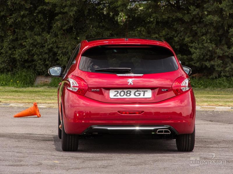 Presentación Peugeot 208 GT 2014