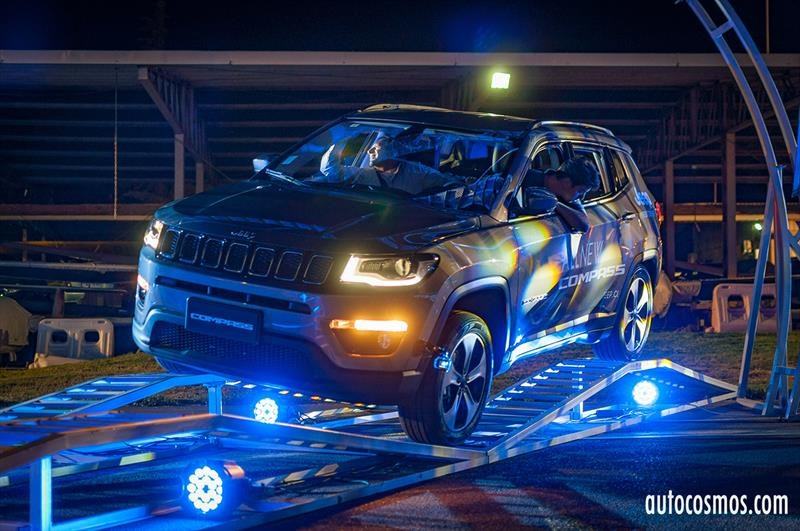 Jeep Compass 2018 - Lanzamiento en Chile