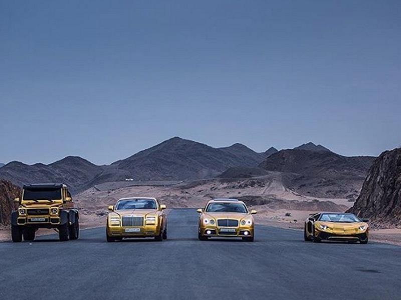 Colección de autos de Turki bin Abdullah