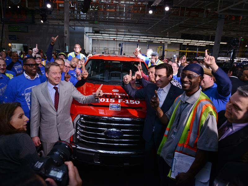 Ford F-150 2015 producción