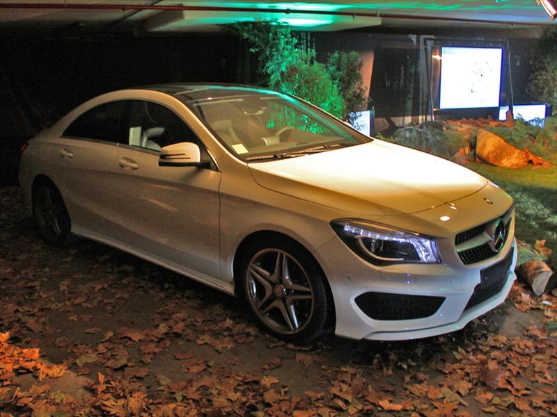 Mercedes-Benz CLA Lanzamiento en Chile