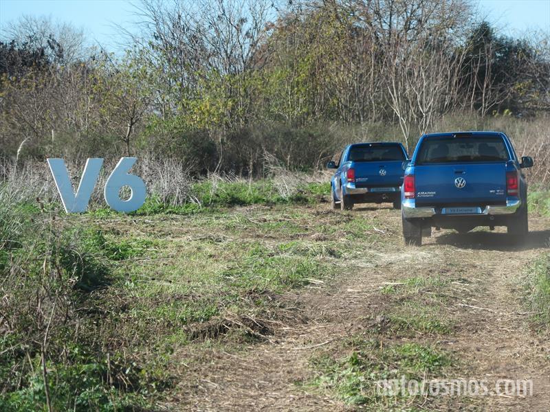 VW Amarok V6 en Campo de Mayo