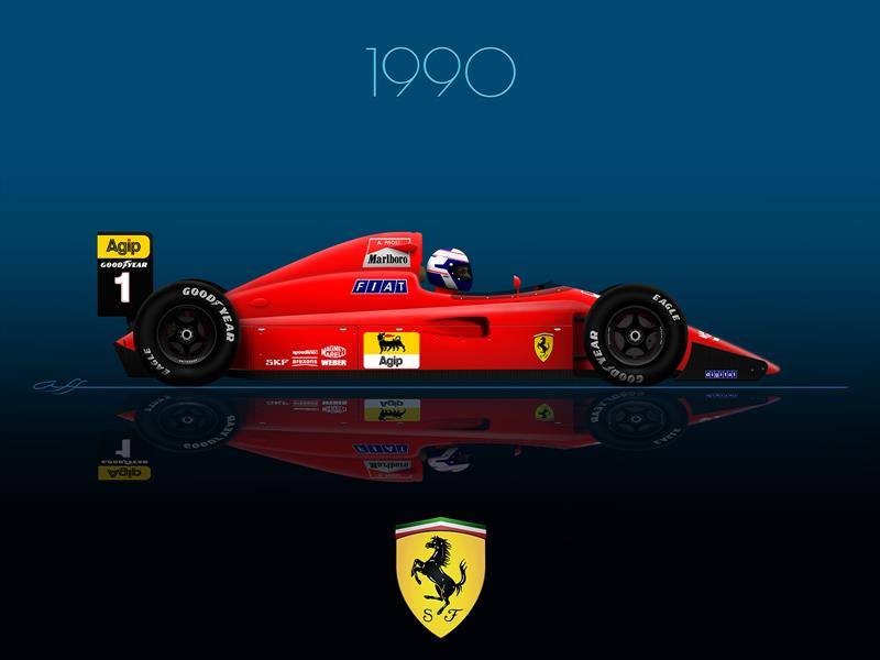 Ganadores GP F1 México 1990