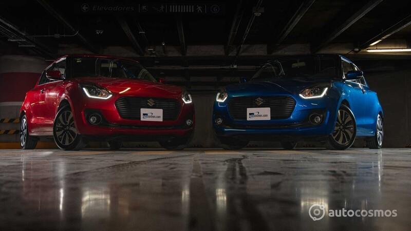 Suzuki Swift, prueba doble