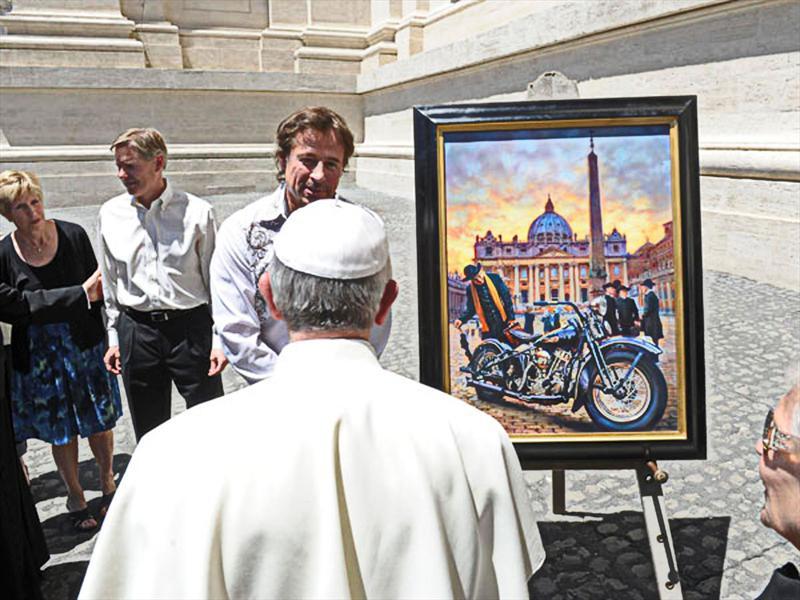 Harley-Davidson en el Vaticano