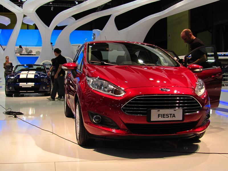 Nuevo Ford Fiesta KD en el Salón de BA